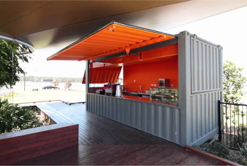 Container Fabrication Services - Café Concept
