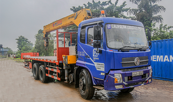Boom Trucks for Hire in Sri Lanka